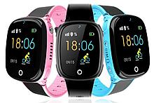 """Дитячий розумний годинник SUNROZ HW11 смарт-годинник 1.44"""" GPS синий розовый"""