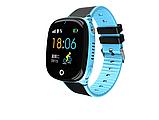 """Дитячий розумний годинник SUNROZ HW11 смарт-годинник 1.44"""" GPS синій рожевий, фото 2"""
