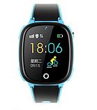 """Дитячий розумний годинник SUNROZ HW11 смарт-годинник 1.44"""" GPS синій рожевий, фото 3"""