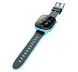 """Дитячий розумний годинник SUNROZ HW11 смарт-годинник 1.44"""" GPS синій рожевий, фото 4"""