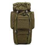 Тактическая туристическая сумка рюкзак 65-75л Oxford 600D военная охотничья крепкая влагозащищенная, фото 3