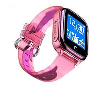 Детские смарт-часы Smart Baby Watch K21 с GPS-модулем водонепроницаемые розовый, фото 1