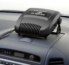 Автомобильный керамический обогреватель салона CAR HEATER 12V, автодуйка. 2 режима. Черный