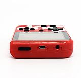 Портативная приставка Retro FC Game Box Sup dendy 400 in 1 Цвет чёрный синий красный и белый, фото 2