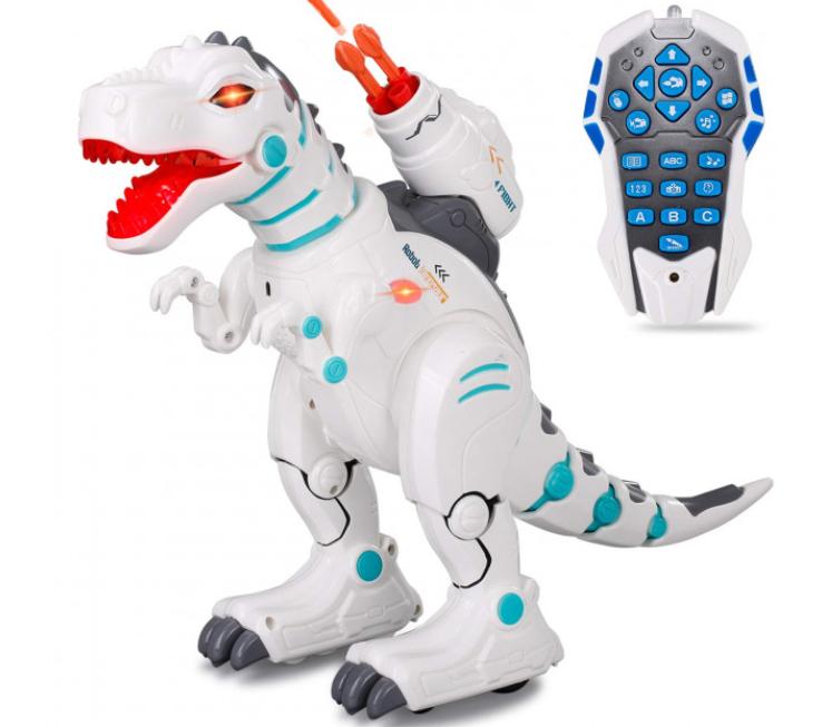 Интерактивная детская игрушка Робот Динозавр Intelligent Robot Dinosaur ll Remote Control на радиоуправлении