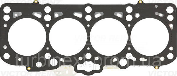 Прокладка головки блока ГБЦ металлическая VWCADDY III VICTOR REINZ 61-34350-10