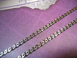 Ланцюжок нонна черненая срібло 925
