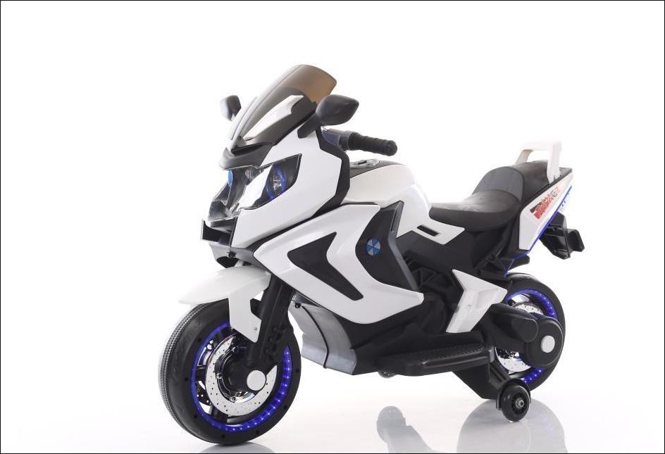 Детский мотоцикл T-7229 белый
