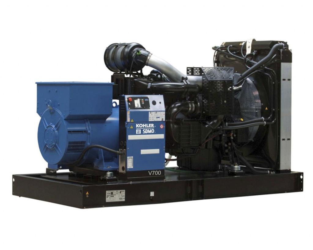 Трехфазный дизельный генератор SDMO V715 C2 (572 кВт)