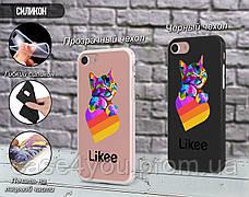 Силиконовый чехол для Apple Iphone 8 plus Likee (Лайк) (4023-3438), фото 2