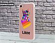 Силиконовый чехол для Apple Iphone 8 plus Likee (Лайк) (4023-3438), фото 4