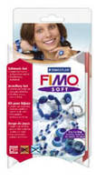 Набор для лепки украшений FIMO Soft Knotted Dots,4шт*25гр,STAEDTLER
