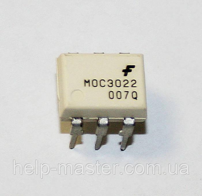 Оптрон MOC3022 (DIP-6)