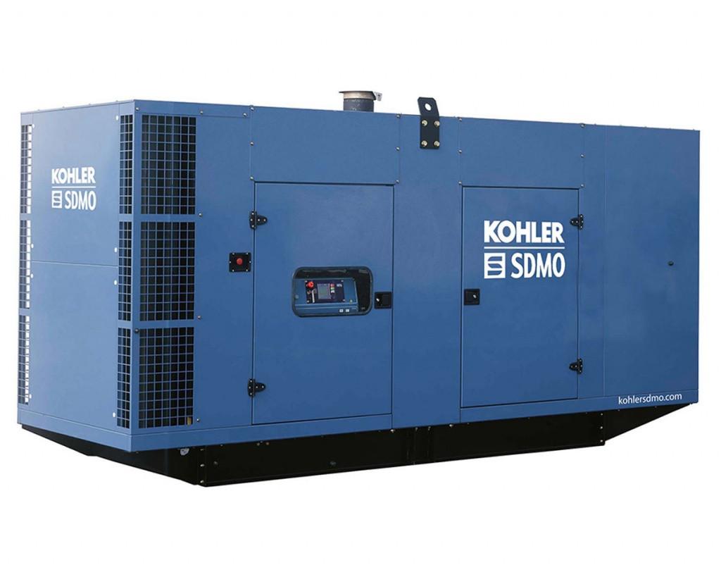 Трехфазный дизельный генератор SDMO V715 C2 (572 кВт) с автоматическим запуском