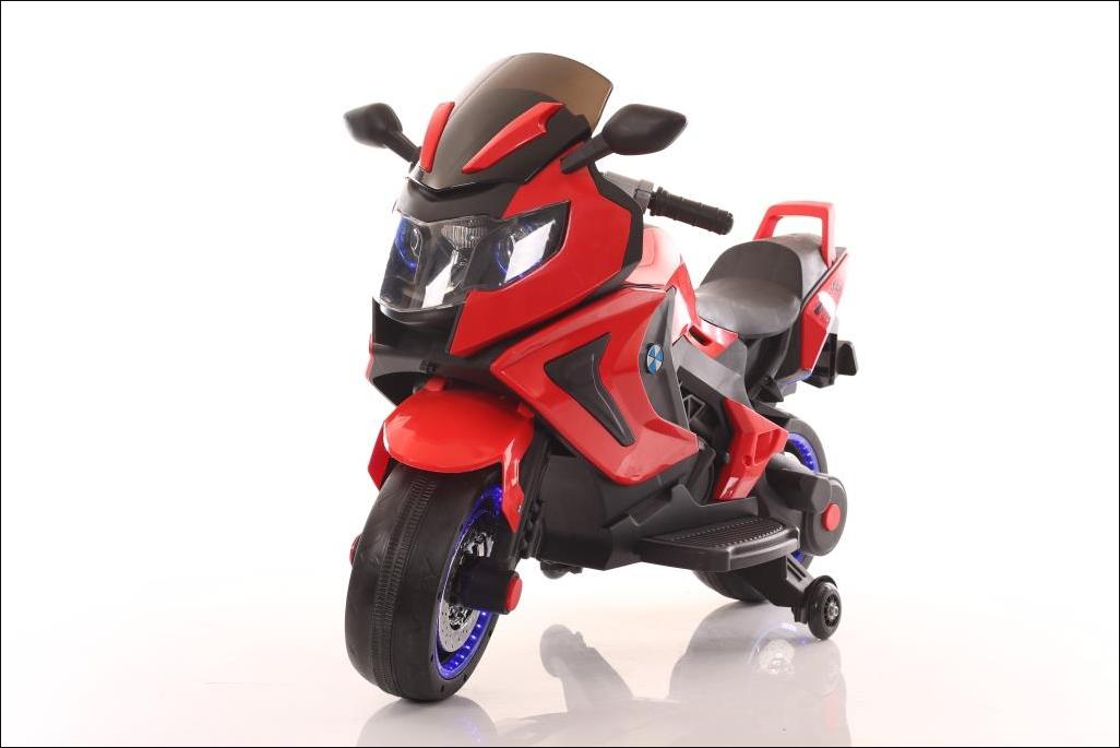 Детский мотоцикл T-7229 красный