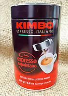 Kimbo Espresso Napoletano 250 gram - кофе молотый жестяная банка