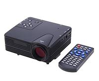 Портативный светодиодный ЖК видео проектор LZ-H80 1080P HD 80 LM ЖК- с HDMI SD CARD USB VGA-слоты 400