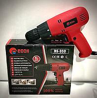 Шуруповерт сетевой EDON DS-350