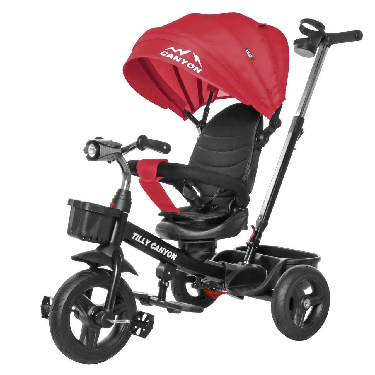 Детский трёхколёсный велосипед Canyon, «Tilly» (T-384), цвет Red (красный)
