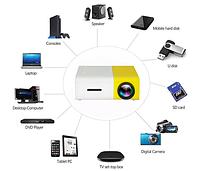 Проектор Led Projector YG300 мультимедийный с динамиком , фото 2