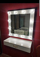 Гримерное зеркало с подсветкой
