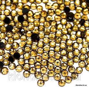 Стразы горячей фиксации DMC, ss8(2.3-2.5 мм), Стекло, Цвет: Золото (927) (1440 шт.)