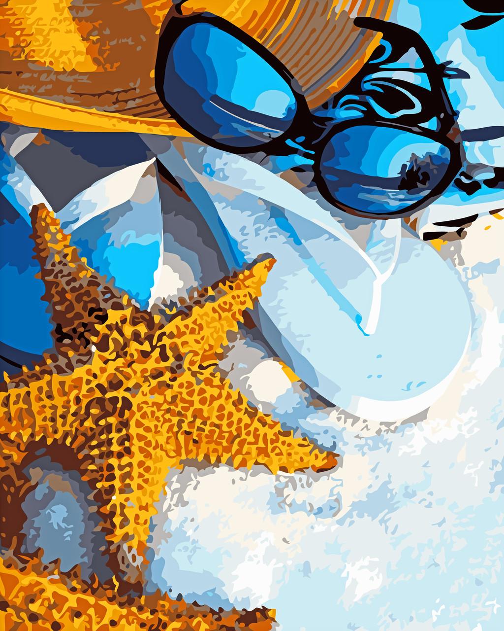Художественный творческий набор, картина по номерам Летний отпуск, 40x50 см, «Art Story» (AS0584)