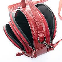 Сумка Женская Клатч кожа ALEX RAI 1-02 3901-2 bordo, фото 2