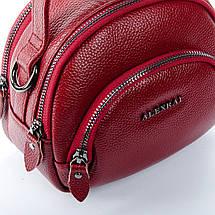 Сумка Женская Клатч кожа ALEX RAI 1-02 3901-2 bordo, фото 3