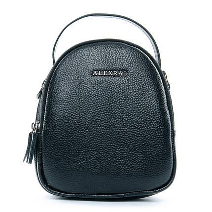 Сумка Женская Клатч кожа ALEX RAI 1-02 3902-1 black, фото 2