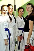 "Начало занятий в школе карате для детей ""Сакура"""