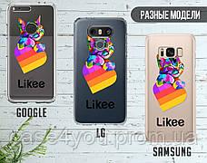 Силиконовый чехол для Samsung G935 Galaxy S7 Edge Likee (Лайк) (28048-3438), фото 3