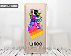 Силиконовый чехол для Samsung G935 Galaxy S7 Edge Likee (Лайк) (28048-3438), фото 2
