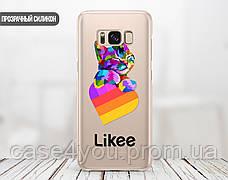 Силиконовый чехол для Samsung G955 Galaxy S8 Plus Likee (Лайк) (28210-3438), фото 2