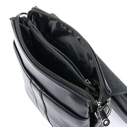 Мужская сумка планшет через плечо иск-кожа DR. BOND GL 202-2 black, фото 2