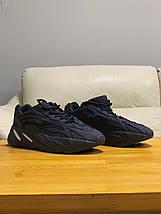 Кроссовки мужские в стиле Yeezy Boost 700 V2 черные, фото 3