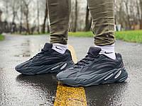 Кроссовки мужские в стиле Adidas Yeezy Boost 700 V2 черные