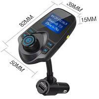 FM трансмиттер модулятор авто MP3 Bluetooth T10, фото 4