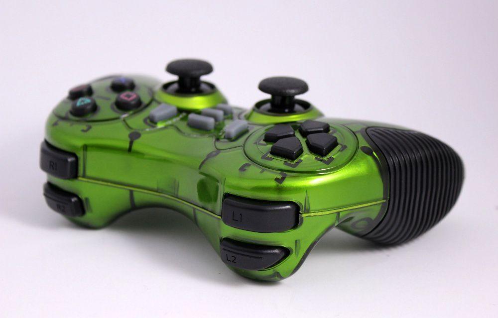 Беспроводной джойстик Game World 6 в 1 GTM для ПК/PS2/PS3/PC360/ANDROID TV/WIN10 Зеленый