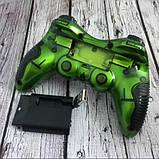 Беспроводной джойстик Game World 6 в 1 GTM для ПК/PS2/PS3/PC360/ANDROID TV/WIN10 Зеленый, фото 5