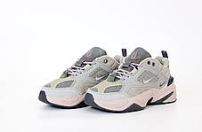 Женские кроссовки в стиле Nike M2k Tekno Grey, фото 3