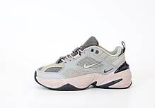 Женские кроссовки в стиле Nike M2k Tekno Grey, фото 2