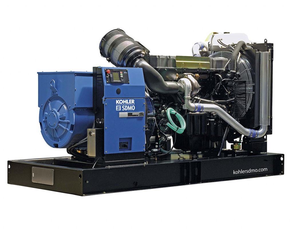 Трехфазный дизельный генератор SDMO V400 C2 (284 кВт)