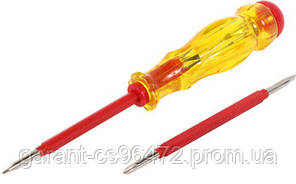Індикатор-викрутка e.tool.test06 155х3хрһ0 прямий-хрестової АС100-500В
