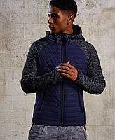 Синяя демисезонная мужская куртка S