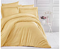 Комплект постельного белья Aran Clasy сатин Strip Hardal