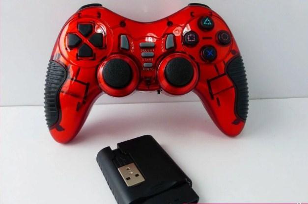 Беспроводной джойстик Game World GTM 6 в 1 для ПК/PS2/PS3/PC360/ANDROID TV/WIN10 Красный