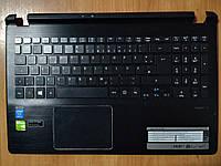 Середня частина ноутбука(ТОПКЕЙС) Acer Aspire V V5-573G з клавіатурою і тачпадом