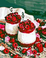 Художественный творческий набор, картина по номерам Малиновый десерт, 40x50 см, «Art Story» (AS0591), фото 1
