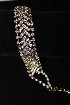 Замечательный свадебный браслет на руку